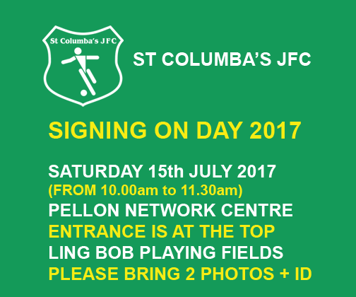 signing on day 2017-18